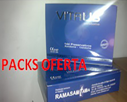 MINI PACK ECONOMIC VITALIS 100 Uds.