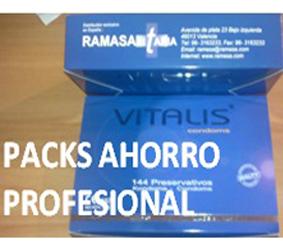 Oferta condones pack duo profesional Vitalis