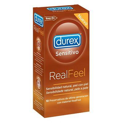 Condones Durex Realfeel