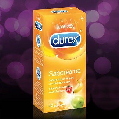 Condones Durex Saboréame