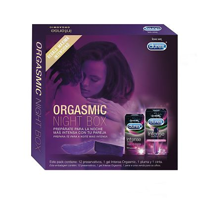DUREX ORGASMIC BOX