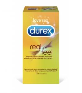 DUREX REAL FEEL ,  PIEL CON PIEL