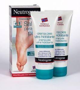 Neutrogena Crema hidratante pies duplo 100 + 100 ml