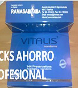 PACK PROFESIONAL VITALIS 136 Uds